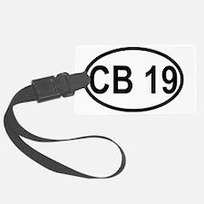 CB Channel 19 Luggage Tag
