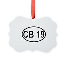 CB Channel 19 Ornament