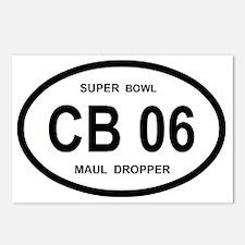 CB 06 SUPERBOWL Postcards (Package of 8)