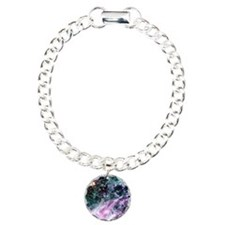 Tarantula Nebula Charm Bracelet, One Charm