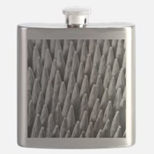 A collection of waxed wooden fire lighting s Flask