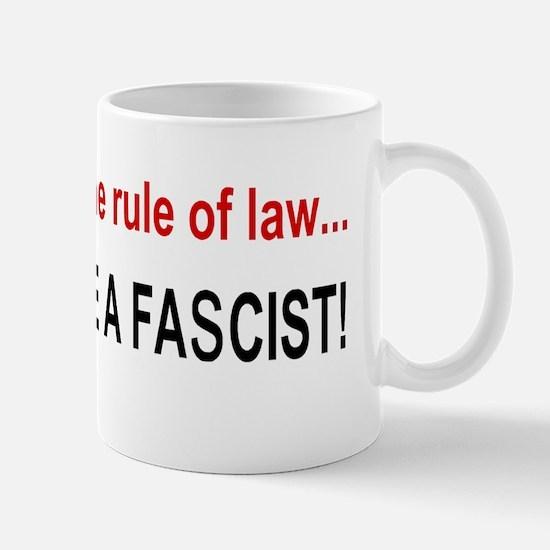 Anti Obama fascistbump Mug