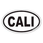 CALI Euro Oval Sticker