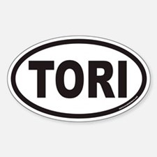 TORI Euro Oval Decal