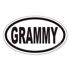 GRAMMY Euro Oval Decal