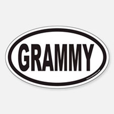 GRAMMY Euro Oval Stickers