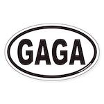 GAGA Euro Oval Sticker