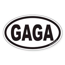 GAGA Euro Oval Decal