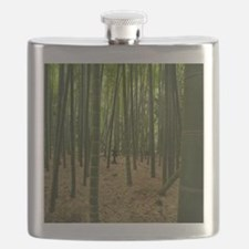 Ancient bamboo grove with stone lantern, Kam Flask