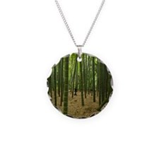 Ancient bamboo grove with st Necklace