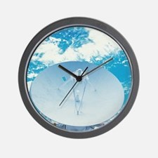 Antenna in Space Wall Clock