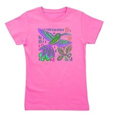 CRAZY ABOUT HUMMINGBIRDS Girl's Tee