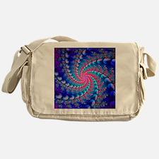 Julia fractal. Computer-generated im Messenger Bag