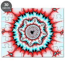 Mandelbrot fractal. Computer-generated imag Puzzle