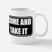 Come and Take It Bumper (Black) Mug