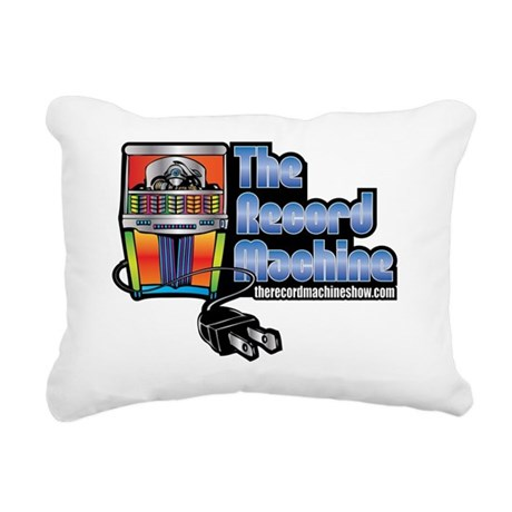 The record machine show Rectangular Canvas Pillow