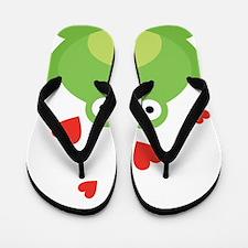 Frog in Love Flip Flops