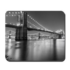 Brooklyn Bridge and Manhattan Bridge at  Mousepad