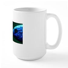 Blue fish head Mug