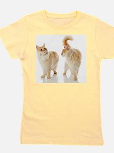 Munchkin cats Girl's Tee