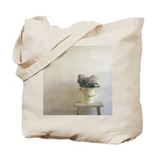 A metal bucket still life on an antique s Tote Bag