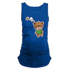 Honey Bear Maternity Tank Top