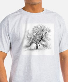 A black and white image of an old Bl T-Shirt