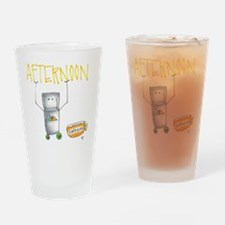 Perk Yourself Up Drinking Glass