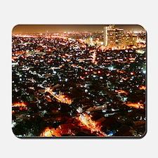City of Jakarta at night, Malaysia Mousepad