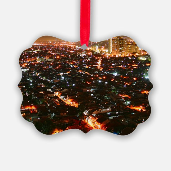 City of Jakarta at night, Malaysi Ornament