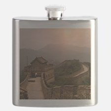 Aerial view of the Great Wall of China Flask