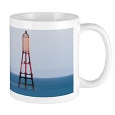 Bass rock from Fife with nautical marke Mug
