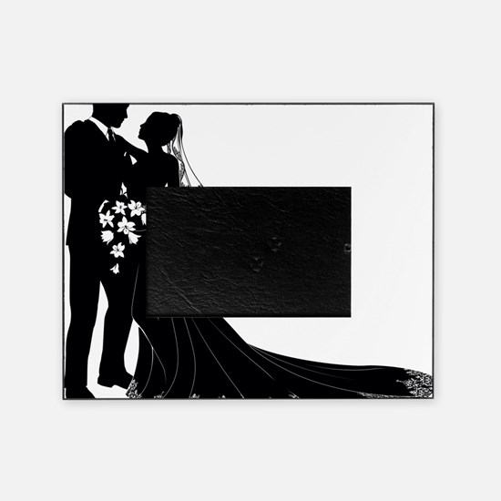 Elegant Couple Picture Frame