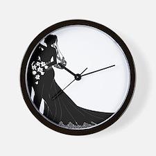 Elegant Couple Wall Clock