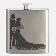 Elegant Couple Flask
