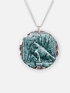 1936 Ecuador Galapagos Land  Necklace