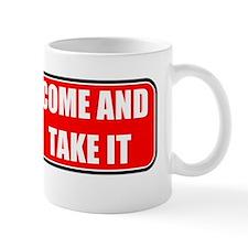 Come and Take It Bumper (Bla-Red) Mug