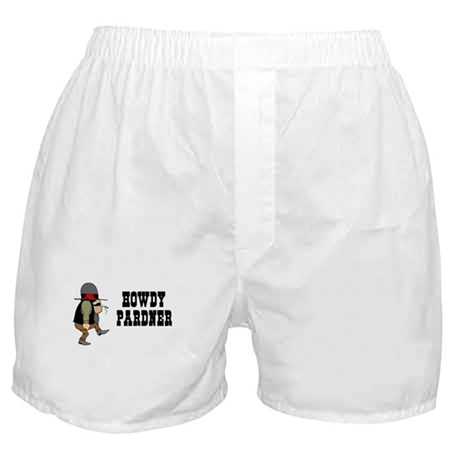 Howdy Pardner Boxer Shorts