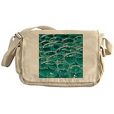 Colorful bubbles. Messenger Bag