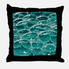 Colorful bubbles. Throw Pillow