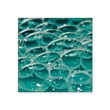 "Colorful bubbles. Square Sticker 3"" x 3"""