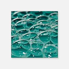 """Colorful bubbles. Square Sticker 3"""" x 3"""""""