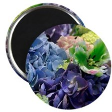 Bunch of flowers. Magnet