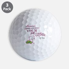True to Yourself Golf Ball