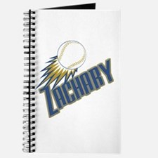 Personalized Zachary Journal