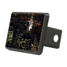 Chrysler Building at night Hitch Cover