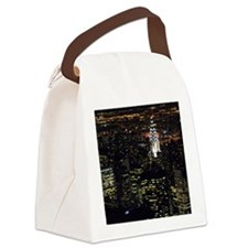 Chrysler Building at night, New Y Canvas Lunch Bag