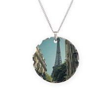 Eiffel Tower taken from diff Necklace