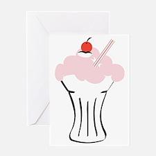 Milkshake Greeting Card