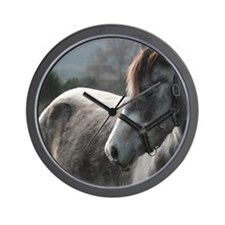 Close-up of Horse Wall Clock
